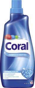 Coral Feinwaschmittel Optimal Color flüssig, 20 Waschladungen